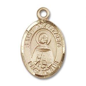 St. Anastasia Charm - 14 Karat Gold Filled (#85039)