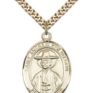 St. Andrew Kim Taegon Medal - 82871 Saint Medal