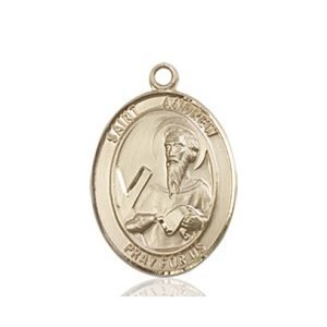 St. Andrew the Apostle Medal - 83264 Saint Medal