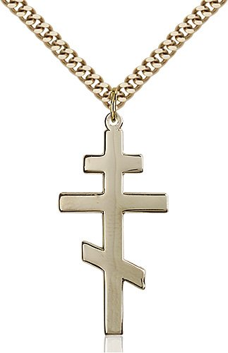 Gold Filled St. Andrew Necklace #86917