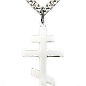Sterling Silver St. Andrew Necklace #86920