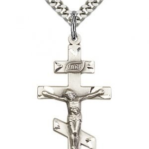Sterling Silver St. Andrew Necklace #86928
