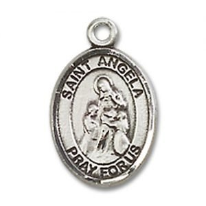St. Angela Merici Charm - Sterling Silver (#M0006)