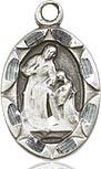 Sterling Silver Saint Ann Charm