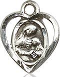 St. Ann Charm - Sterling Silver  (#84442)