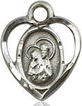 St. Ann Charm - Sterling Silver  (#84447)