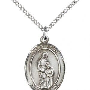 ST Anne Medal Sterling Silver