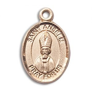 St. Anselm of Canterbury Charm - 14 Karat Gold Filled (#85352)