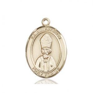 St. Anselm of Canterbury Medal - 84166 Saint Medal