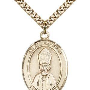 St. Anselm of Canterbury Medal - 82793 Saint Medal