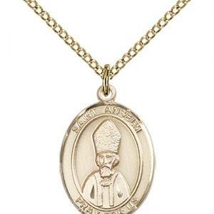 St. Anselm of Canterbury Medal - 84165 Saint Medal