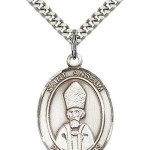 St. Anselm of Canterbury Medal - 82795 Saint Medal