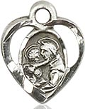 St. Anthony of Padua Charm - Sterling Silver  (#84444)