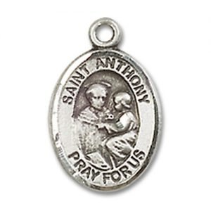 St. Anthony of Padua Charm - Sterling Silver (#M0068)