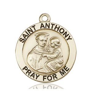 St. Anthony Medal - 81744 Saint Medal