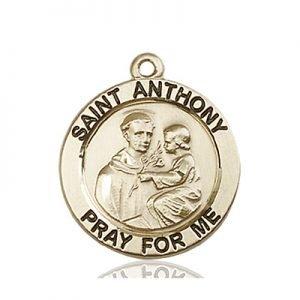 St. Anthony of Padua Medal - 83185 Saint Medal