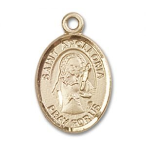 St. Apollonia Charm - 14 Karat Gold Filled  (#84466)