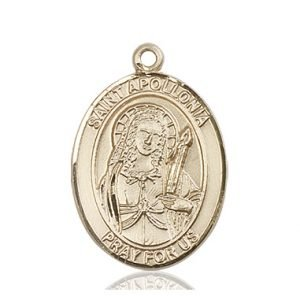 St. Apollonia Medal - 81910 Saint Medal