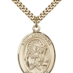 St. Apollonia Medal - 81909 Saint Medal