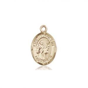 St. Augustine Charm - 84473 Saint Medal