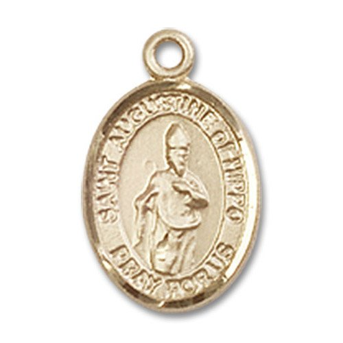 St. Augustine of Hippo Charm - 14 Karat Gold Filled (#85015)