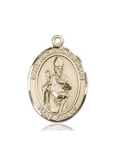 St. Augustine of Hippo Medal - 82455 Saint Medal