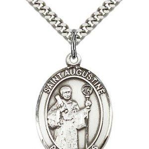 St. Augustine Medal - 81917 Saint Medal