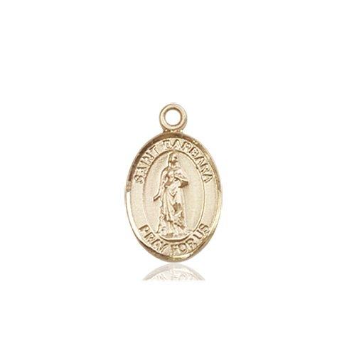 St. Barbara Charm - 84470 Saint Medal