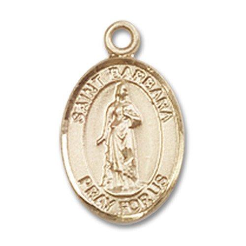 St. Barbara Charm - 14 Karat Gold Filled (#84469)