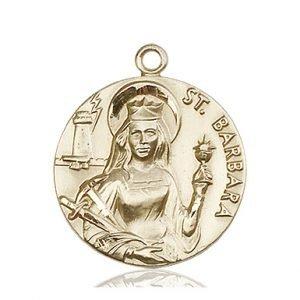 St. Barbara Medal - 81644 Saint Medal