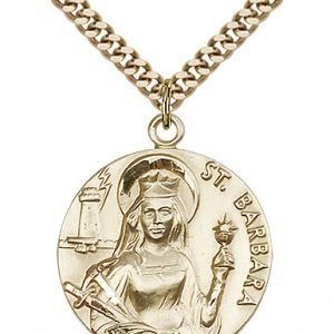 St. Barbara Medal - 81643 Saint Medal