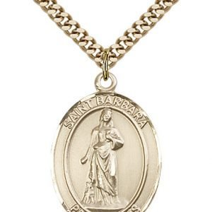 St. Barbara Medal - 81912 Saint Medal