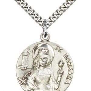 St. Barbara Medal - 81645 Saint Medal