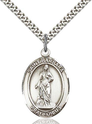 St. Barbara Medal - 81914 Saint Medal