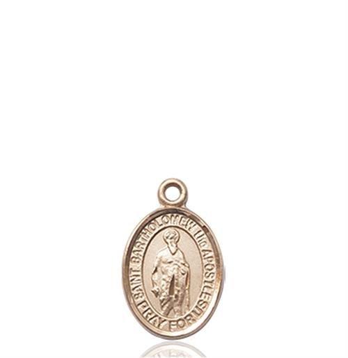 St. Bartholomew the Apostle Charm - 14 KT Gold (#85094)