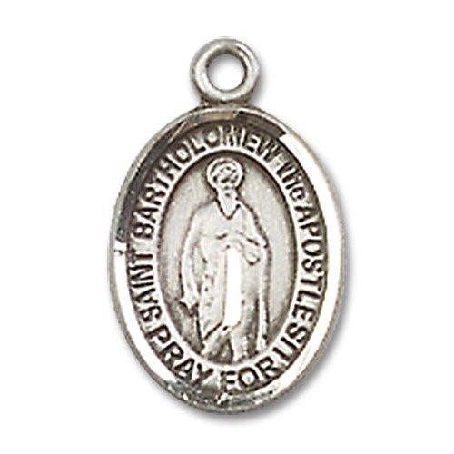 St. Bartholomew the Apostle Charm - Sterling Silver (#85095)