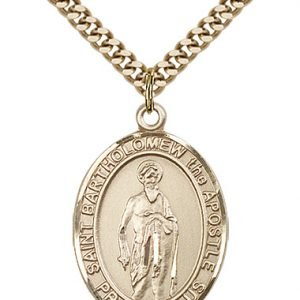 St. Bartholomew the Apostle Medal - 82532 Saint Medal