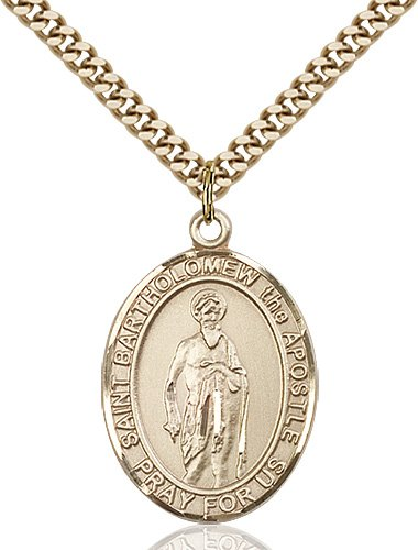 St. Bartholomew the Apostle Medal - 82532 Saint Medal