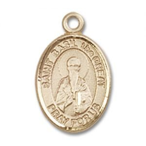St. Basil the Great Charm - 14 Karat Gold Filled (#85176)
