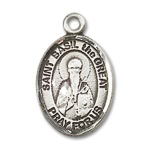 St. Basil the Great Charm - Sterling Silver (#85178)