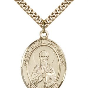St. Basil the Great Medal - 82616 Saint Medal