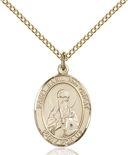 St. Basil the Great Medal - 83988 Saint Medal