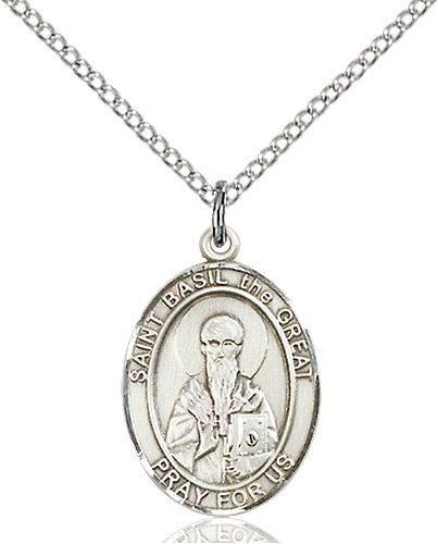 St. Basil the Great Medal - 83990 Saint Medal