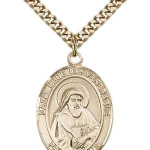 St. Bede the Venerable Medal - 82682 Saint Medal