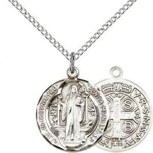 St. Benedict Medal - 81565 Saint Medal