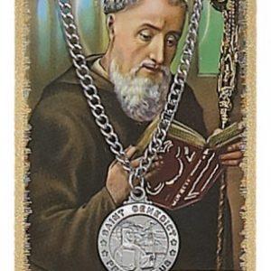 St. Benedict Pendant and Prayer Card Set