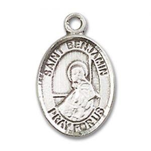 St. Benjamin Charm - Sterling Silver (#84492)