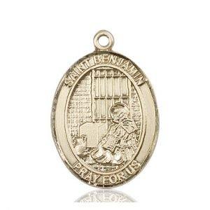 St. Benjamin Medal - 81934 Saint Medal