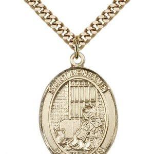 St. Benjamin Medal - 81933 Saint Medal