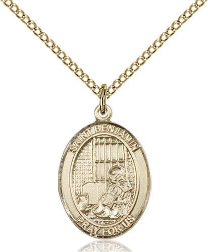 St. Benjamin Medal - 83302 Saint Medal